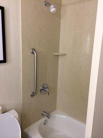Hilton Garden Inn Times Square: bath/shower