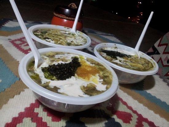 Masuleh, Irã: Delecious Aash