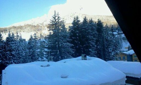Hotel Capannina: ottima vista sulle montagne