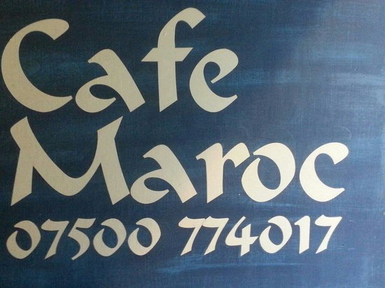 Cafe Maroc: Telephone number