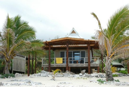 Tropical Sands: The villa from the beach!!