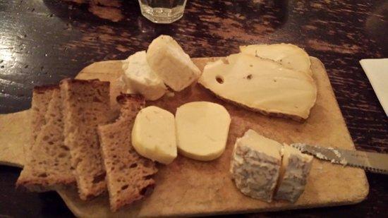 Le Petit Cler: Tagliere di formaggi