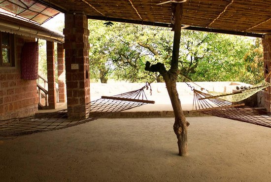 Farm of Happiness, home stay at an Organic Farm: Front yard of the traditional Konkani House