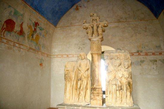 CHÂTEAU ET REMPARTS DE LA CITÉ DE CARCASSONNE : Le musée lapidaire
