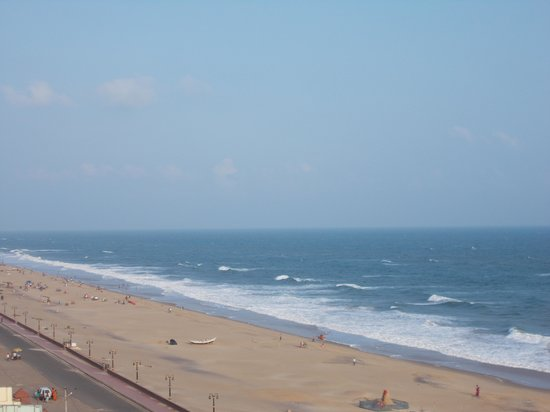 Puri Beach Resort: View from lighthouse