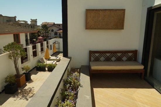 L'Hotel Eden: Great Balcony