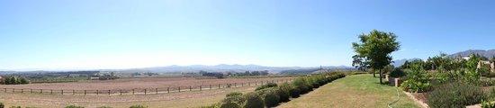 Longridge Restaurant : view from the estate