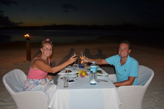 The Flying Boat: Candle light dinner