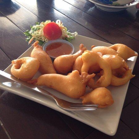 Massaman Restaurant & Bar : Seafood.очень нежные и вкусные.