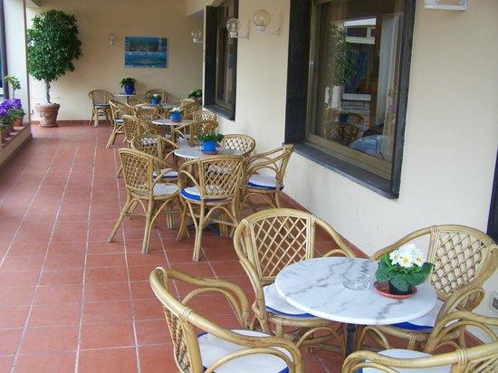 Hotel Splendid : terrasse