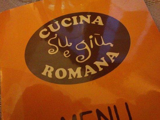 Menu fotograf a de su giu cucina romana roma tripadvisor for Menu cucina romana