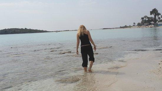 Nissi Beach Resort : strolling around beautiful scenery