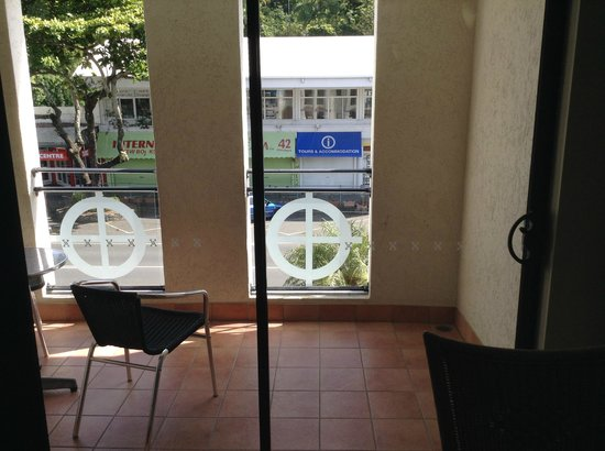 Regal Port Douglas: The balcony overlooking the main street