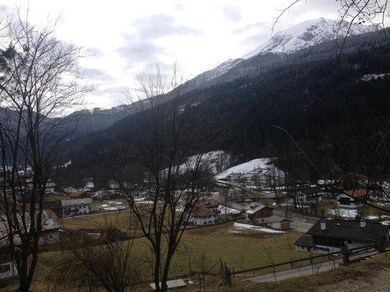 BEST WESTERN PLUS Berghotel Rehlegg: Aussicht von der eigenen Terrasse