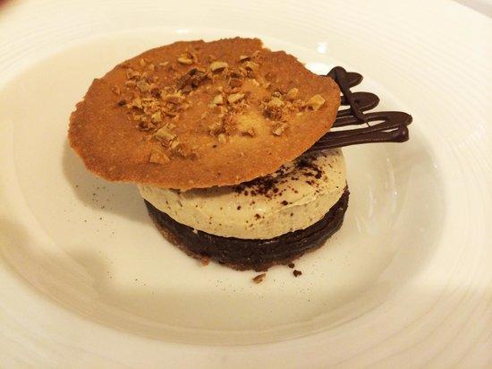 La Bul: Pasta zuccherata al cioccolato con mousse di mascarpone al caffé