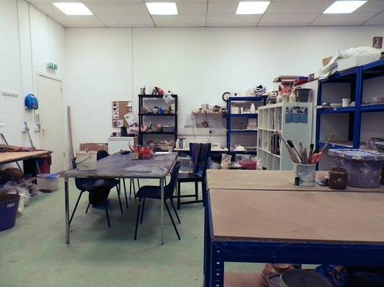Cyan Clayworks: Teaching space from the other end of the room