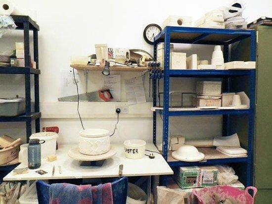 Cyan Clayworks: Plaster area