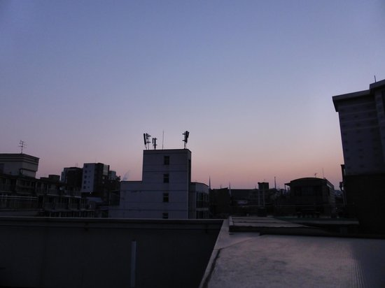 Boa travel house: Rooftop at dawn