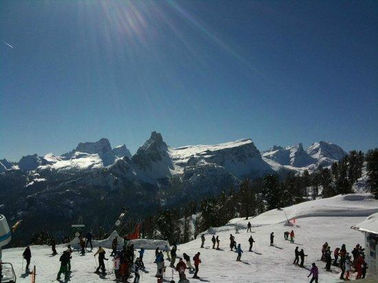 Rifugio Duca D'Aosta: Panorama