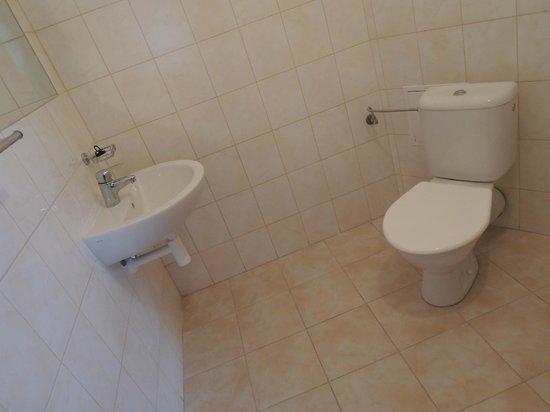 BEST Hotel Garni Olomouc: Bathroom economy - lux