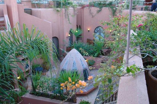 Riad Amira Victoria : Vista desde la terraza