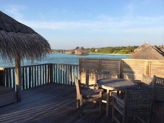 Gili Lankanfushi Maldives : Private space on villa roof