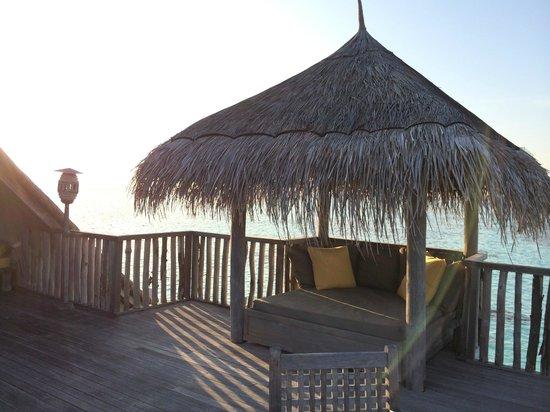 Gili Lankanfushi: Roof of villa