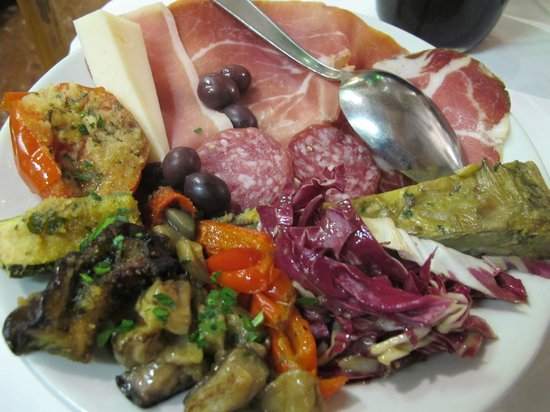 Trattoria Dal Cavalier Gino : Mixed house antipasti