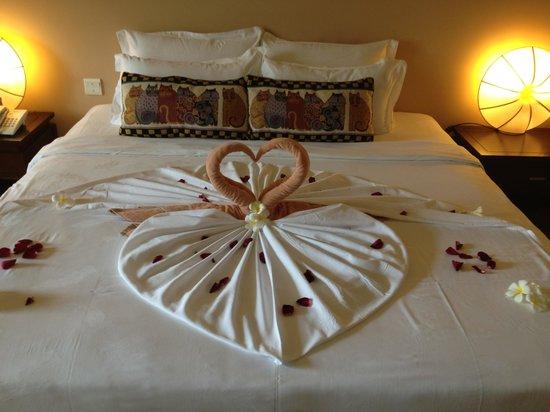 Baan Laimai Beach Resort: Honeymoon set up