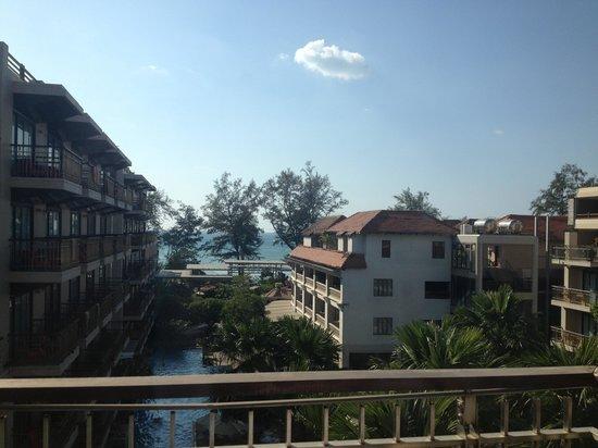 Baan Laimai Beach Resort: sea view