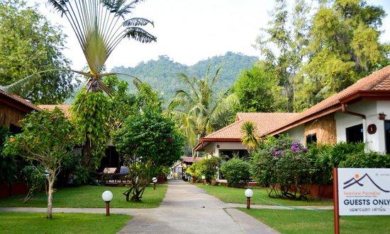Seaview Paradise Resort Hotel : Территория