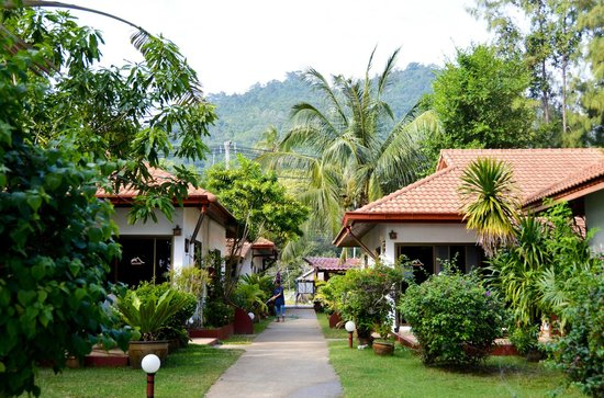Seaview Paradise Resort Hotel : Вид на виллыот моря