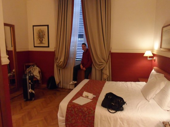 Cosmopolita Hotel : Just arrived in the room