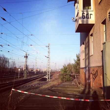 Gleis 17, Grunewald: GDR