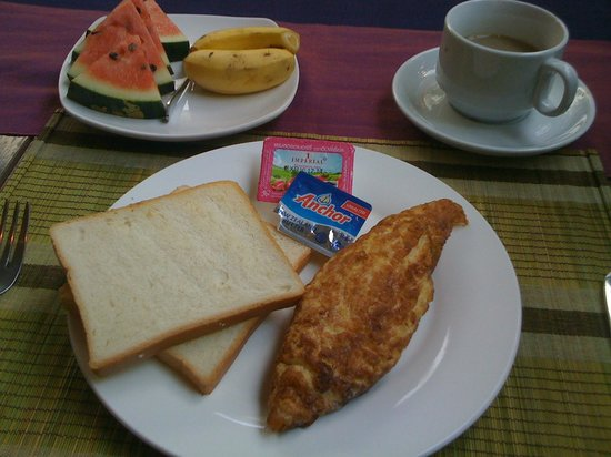 Boutique Cambo Hotel : Breakfast