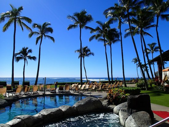 Sheraton Kauai Resort : beautiful pool