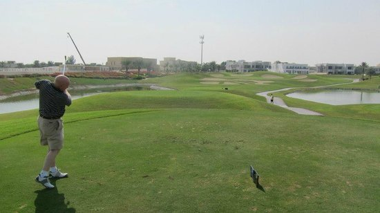 The Address Montgomerie Dubai Golf Course: Look out for the hand in the sand