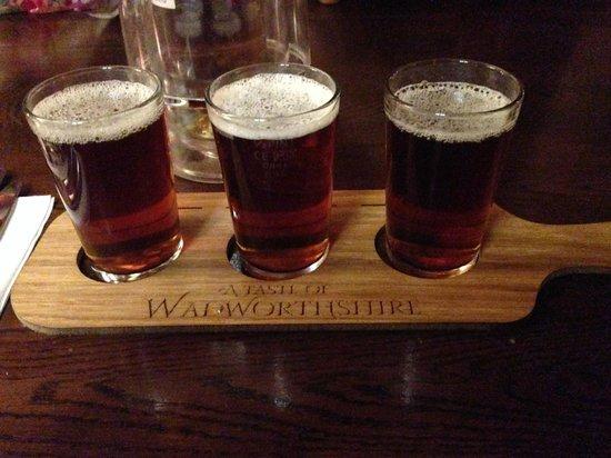 The Barge Inn: Taster Ale 2 x 1/3 Pints