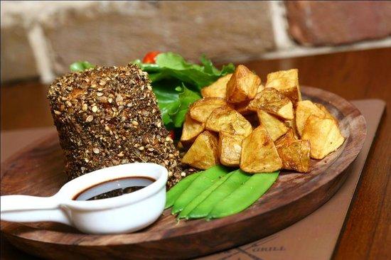 Smoke House Grill: Smokeys - Two Peppercorn Steak