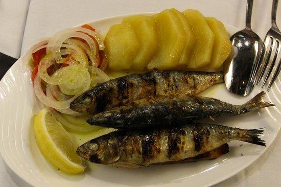 Antonio Restaurant: Grilled Sardines