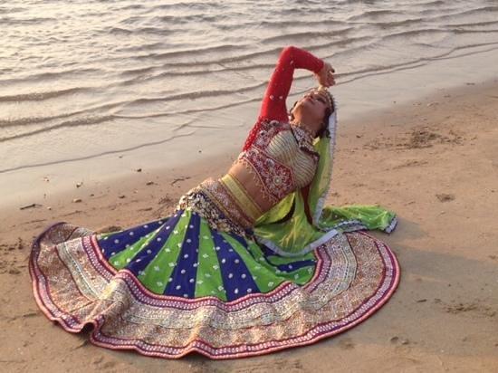 Queen Harish in Goa.