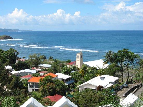 Karibéa Résidence La Goélette: Vue sur mer depuis le balcon