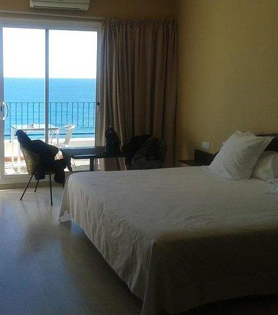 Hotel Terramar: habitació