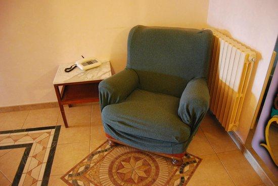 Hotel Sicilia: No sentarse