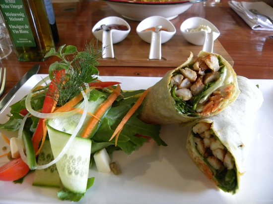 The Rainforest Cafe : wrap de crocodile tails