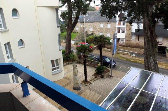 Best Western Plus Celtique Hotel & Spa : La vue depuis le balcon