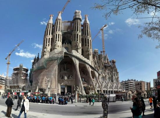 Gaudi sagrada familia hotel barcellona spagna prezzi for Alloggi a barcellona