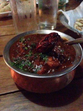 The Pavilion: Chicken Kolhapuri