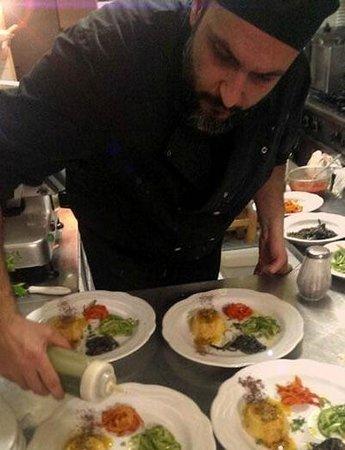 Caciocavallo: Chef Mariano