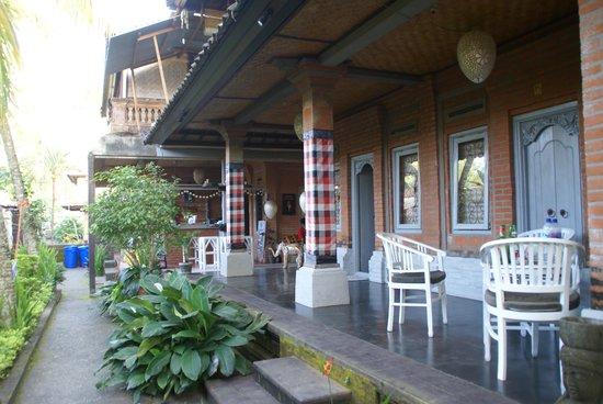 In Da Lodge: exterieur des chambres